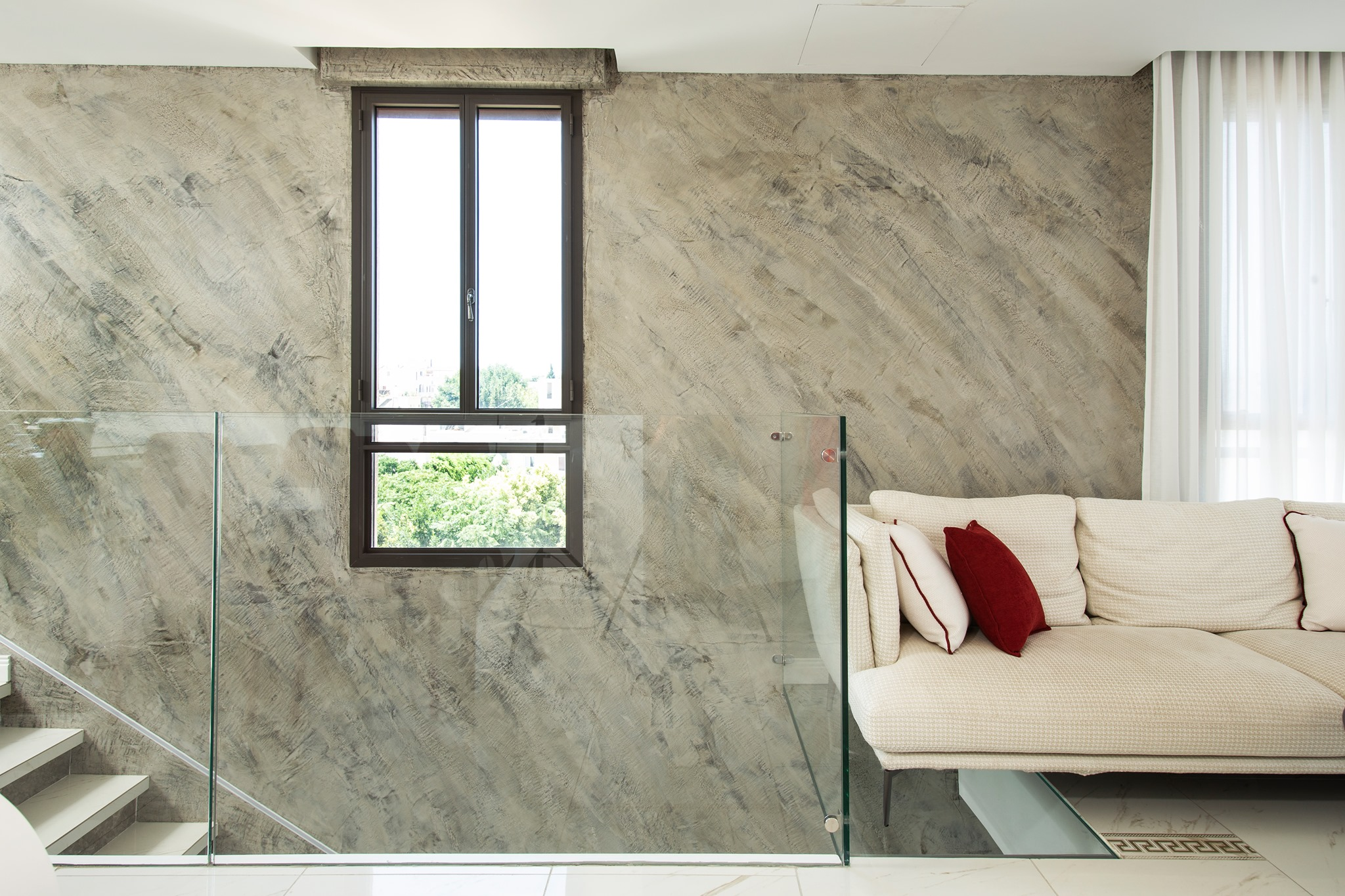 Plasmatore Ivan Lutski_wall decor Infinito e marmo liquido