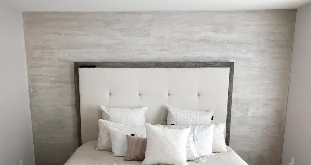 Plasmatore Italiano: Angelo Lepore creazione decor wall Marmo romano effetto perlato