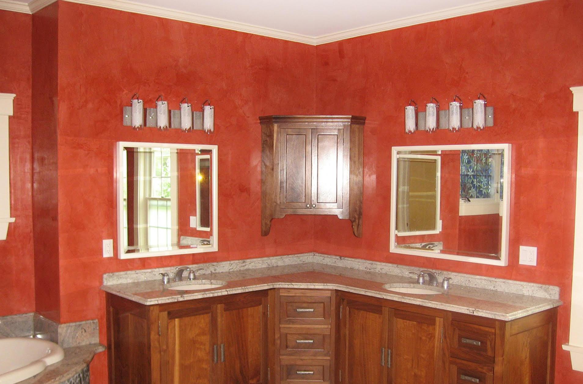 Plasmatore Italiano: Angelo Lepore creazione Riqualificazione pareti bagno stucco veneziano