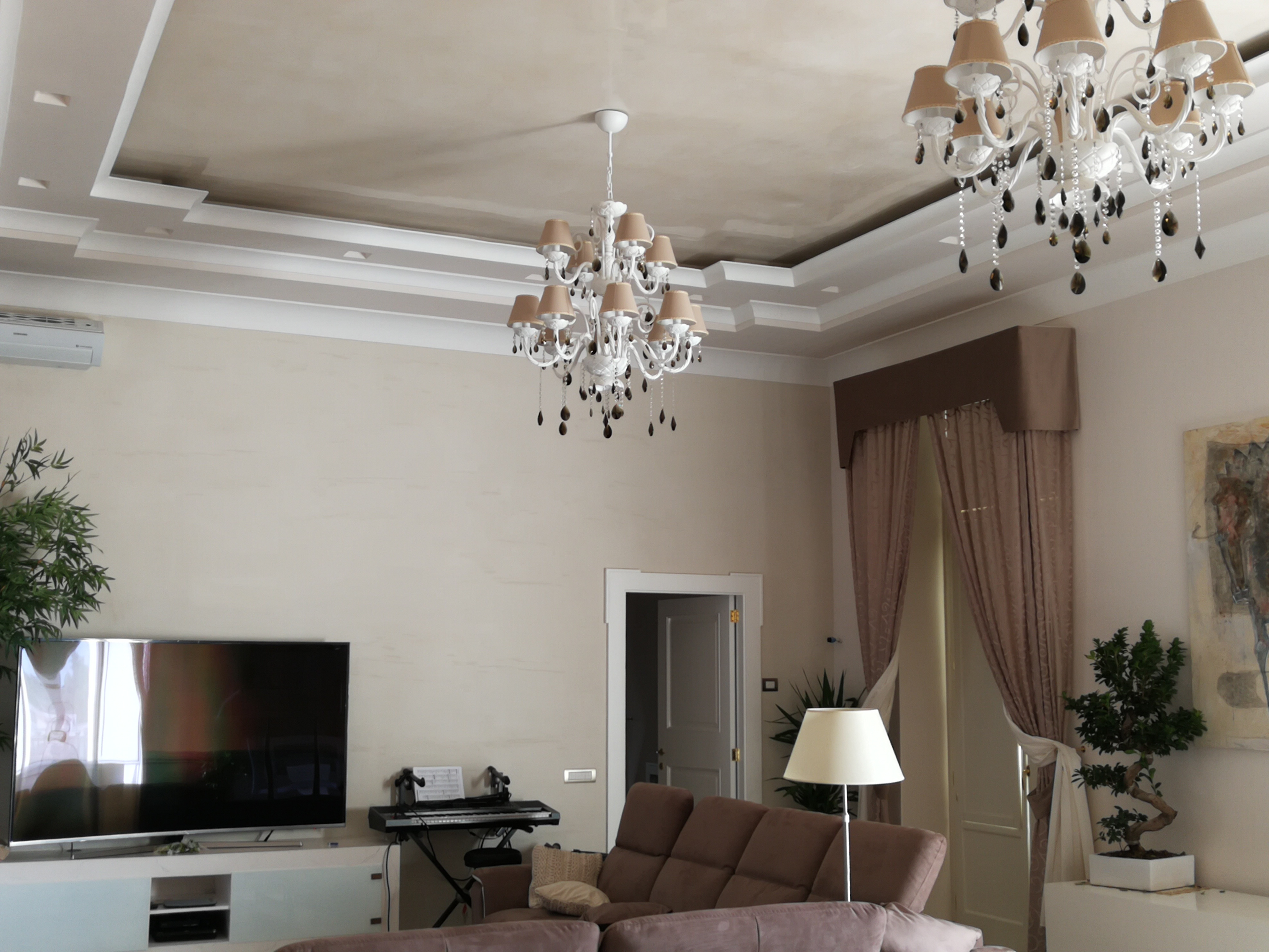 Plasmatore Italiano Antonio Saccoia Decor Wall: Infinito – soffitto con Riflesso