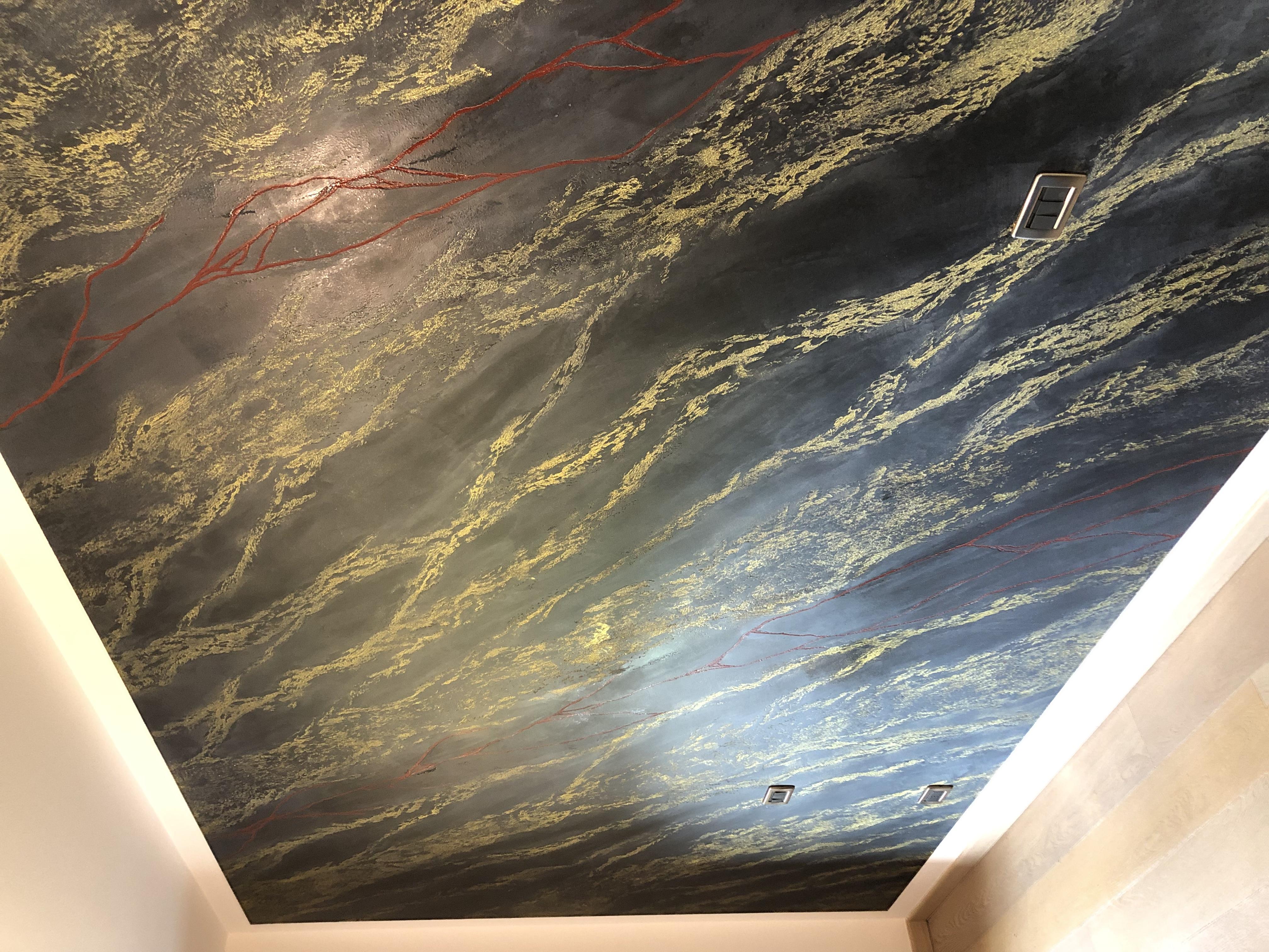 Plasmatore Italiano Paolo Grivellaro creazione wall decorativo Infinito